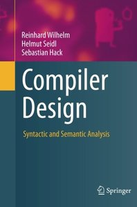 Compiler Design: Syntactic and Semantic Analysis-cover