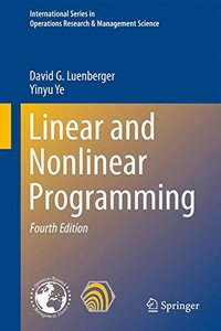 Linear and Nonlinear Programming, 4/e (Hardcover)-cover