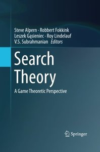 Search Theory: A Game Theoretic Perspective-cover