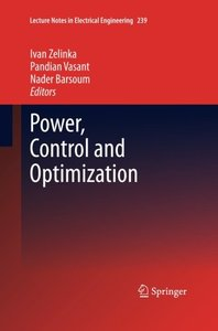 Power, Control and Optimization (Lecture Notes in Electrical Engineering)-cover