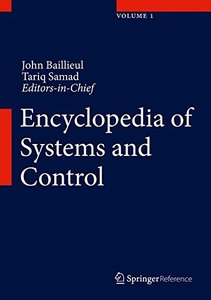 Encyclopedia of Systems and Control-cover