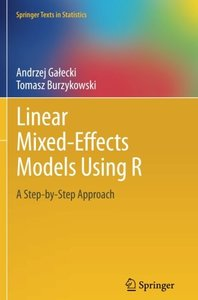 Linear Mixed-Effects Models Using R-cover