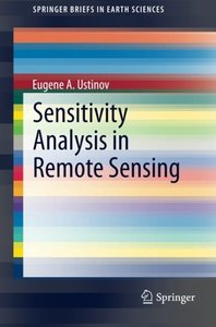 Sensitivity Analysis in Remote Sensing (SpringerBriefs in Earth Sciences)-cover
