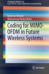Coding for MIMO-OFDM in Future Wireless Systems (SpringerBriefs in Electrical and Computer Engineering)-cover