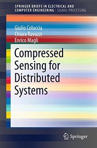 Compressed Sensing for Distributed Systems (SpringerBriefs in Electrical and Computer Engineering)-cover