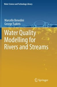Water Quality Modelling for Rivers and Streams-cover