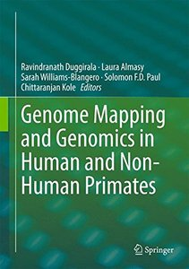 Genome Mapping and Genomics in Human and Non-Human Primates (Genome Mapping and Genomics in Animals)-cover