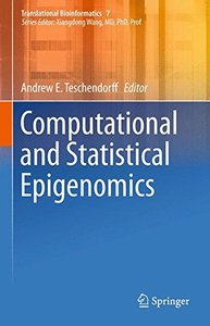 Computational and Statistical Epigenomics (Translational Bioinformatics)-cover