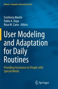 User Modeling and Adaptation for Daily Routines-cover