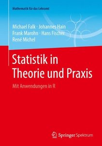 Statistik in Theorie und Praxis: Mit Anwendungen in R (Mathematik für das Lehramt) (German Edition)-cover