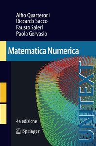 Matematica Numerica (UNITEXT) (Italian Edition)
