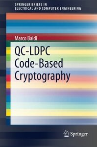 QC-LDPC Code-Based Cryptography (SpringerBriefs in Electrical and Computer Engineering)-cover