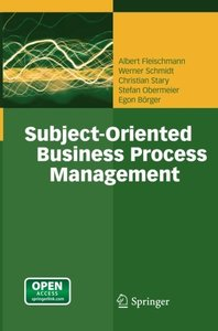 Subject-Oriented Business Process Management-cover