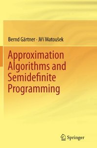 Approximation Algorithms and Semidefinite Programming-cover