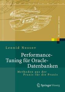 Performance Tuning für Oracle-Datenbanken: Methoden aus der Praxis für die Praxis (X.systems.press) (German Edition)-cover