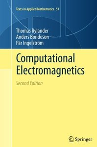 Computational Electromagnetics (Texts in Applied Mathematics)-cover