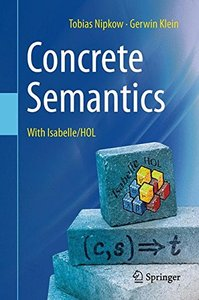 Concrete Semantics: With Isabelle/HOL-cover