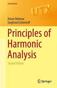 Principles of Harmonic Analysis (Universitext)-cover