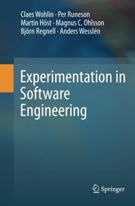 Experimentation in Software Engineering-cover