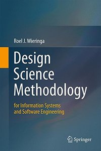 Design Science Methodology for Information Systems and Software Engineering-cover
