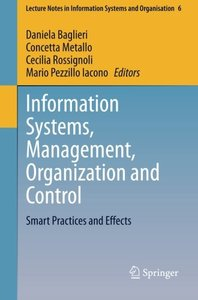 Information Systems, Management, Organization and Control: Smart Practices and Effects (Lecture Notes in Information Systems and Organisation)-cover