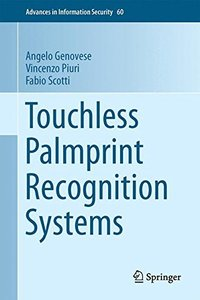 Touchless Palmprint Recognition Systems (Advances in Information Security)-cover