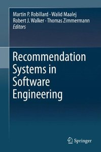 Recommendation Systems in Software Engineering-cover