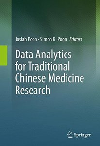 Data Analytics for Traditional Chinese Medicine Research-cover