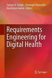 Requirements Engineering for Digital Health-cover
