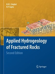 Applied Hydrogeology of Fractured Rocks: Second Edition-cover