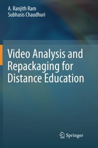 Video Analysis and Repackaging for Distance Education-cover