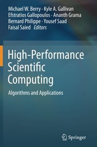 High-Performance Scientific Computing: Algorithms and Applications-cover