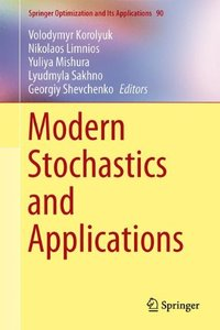 Modern Stochastics and Applications (Springer Optimization and Its Applications)-cover