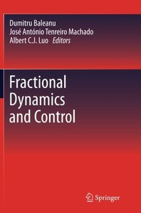 Fractional Dynamics and Control-cover
