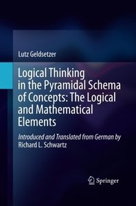 Logical Thinking in the Pyramidal Schema of Concepts: The Logical and Mathematical Elements-cover