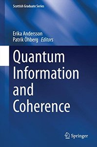 Quantum Information and Coherence (Scottish Graduate Series)-cover