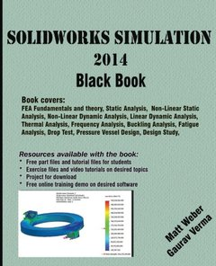 SolidWorks Simulation 2014 Black Book-cover
