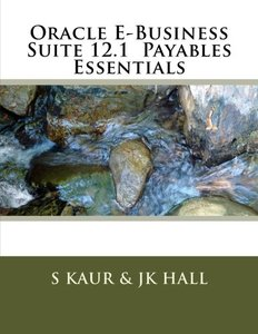 Oracle E-Business Suite 12.1  Payables Essentials-cover