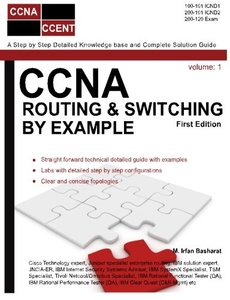 CCNA Routing & Switching By Example (CCNA Routing and Switching) (Volume 1)-cover