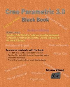 Creo Parametric 3.0 Black Book-cover