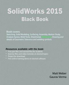 SolidWorks 2015 Black Book-cover