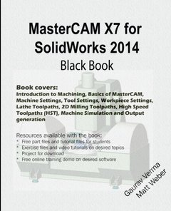 MasterCAM X7 for SolidWorks 2014 Black Book-cover