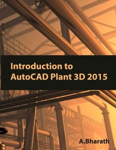 Introduction to AutoCAD Plant 3D 2015-cover