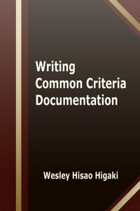 Writing Common Criteria Documentation-cover