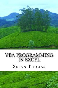 VBA Programming in Excel: Learn With Examples-cover