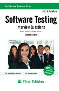 Software Testing Interview Questions You'll Most Likely Be Asked (Job Interview Questions Series) (Volume 1)-cover