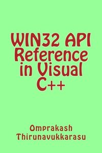 WIN32 API Reference in Visual C++-cover