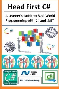 Head First C#,: A Learner's Guide to Real-World Programming with Visual C# and .NET-cover