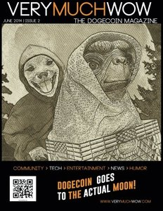 Very Much Wow | The Dogecoin Magazine | June 2014 (Volume 2)-cover