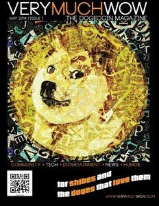 Very Much Wow | The Dogecoin Magazine: May 2014 | Issue 1 (Volume 1)-cover